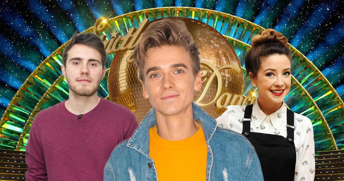 Alfie Deyes, KSI and Caspar Lee among YouTubers who are 'so proud' of Strictly's Joe Sugg