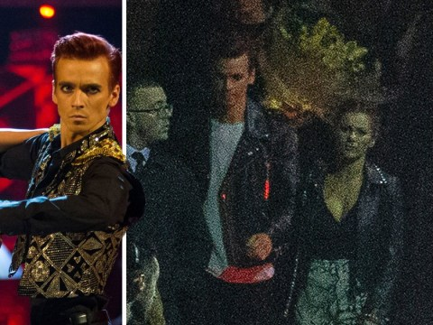 Joe Sugg and Dianne Buswell leave Strictly after party hand in hand amid romance rumours