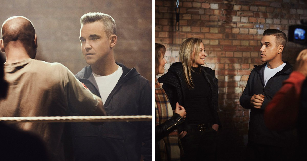 Robbie Williams unveiled as new WW ambassador as he says he 'let family down' with weight gain
