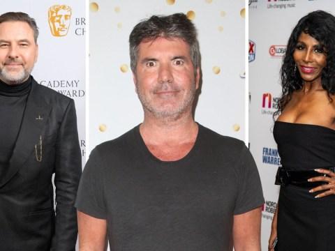 Simon Cowell is desperate to set up ex-girlfriend Sinitta with David Walliams