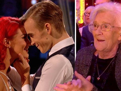 Joe Sugg's nana Phyllis, 95, thinks he's 'head over heels' for Strictly girlfriend Dianne Buswell