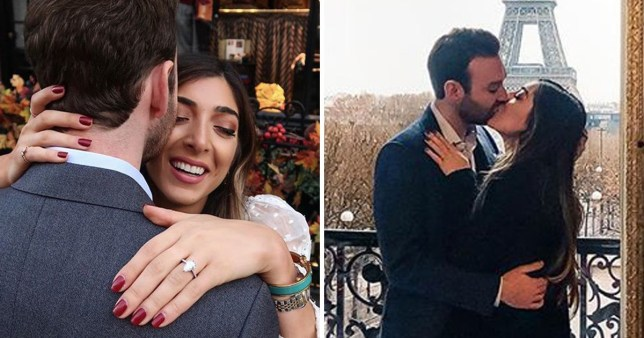 YouTuber Amelia Liana gets engaged during romantic Paris getaway