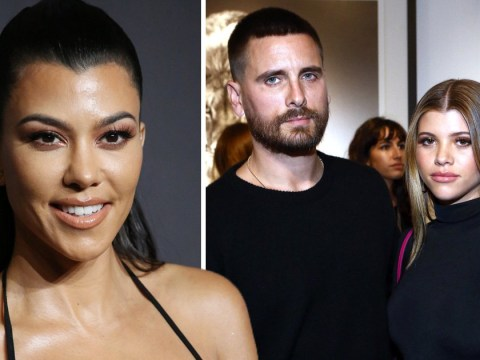 Kourtney Kardashian knows how she'd react to Scott Disick proposing to Sofia Richie