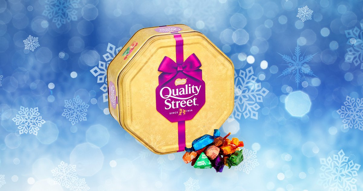 Tesco is selling ridiculously cheap tubs of Quality Street