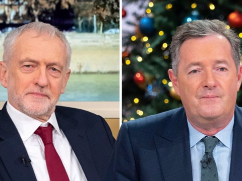 Piers Morgan slams Jeremy Corbyn for 'shocking sexism' after Theresa May comment