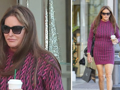 Caitlyn Jenner proves Christmas in California is far from wintery on festive shopping spree