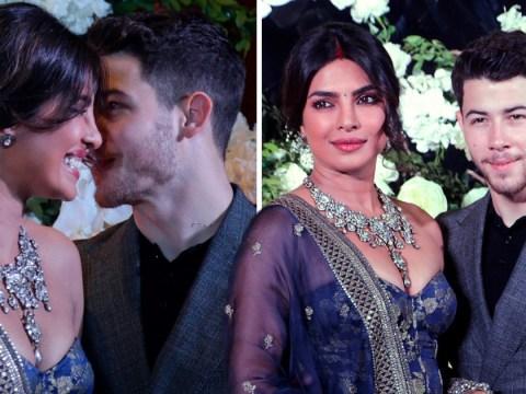 Priyanka Chopra and Nick Jonas are giddy in love in Mumbai for more wedding receptions