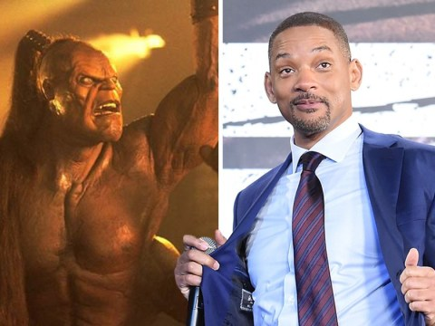 Is Will Smith's Aladdin Genie character inspired by Goro in Mortal Kombat?