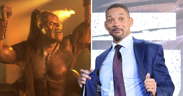 Is Will Smith's Genie character inspired by Goro in Mortal