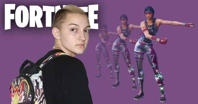 Fortnite Sued By Backpack Kid For Ripping Off Floss Dance Metro News