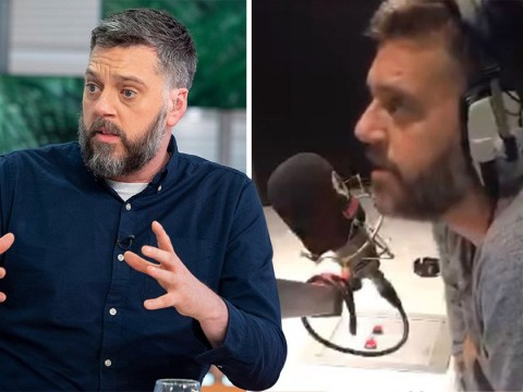 'You're still here': Iain Lee speaks to suicidal man he saved live on air