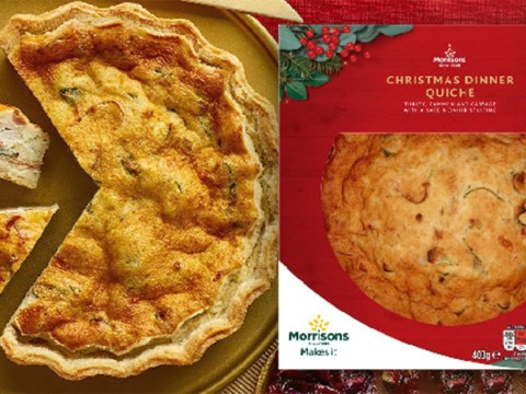 Morrisons launches Christmas dinner in a quiche