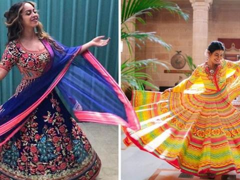 Beyonce recreates Priyanka Chopra's spinning photo in Indian dress and it's just beautiful