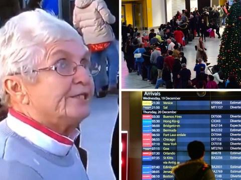 Grandma says Gatwick drone pilot should be 'hanged' as punishment