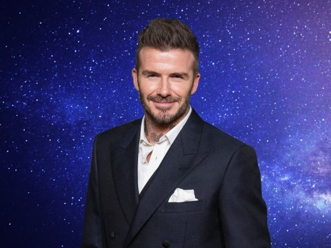 David Beckham isn't actually going into space so we can all calm down