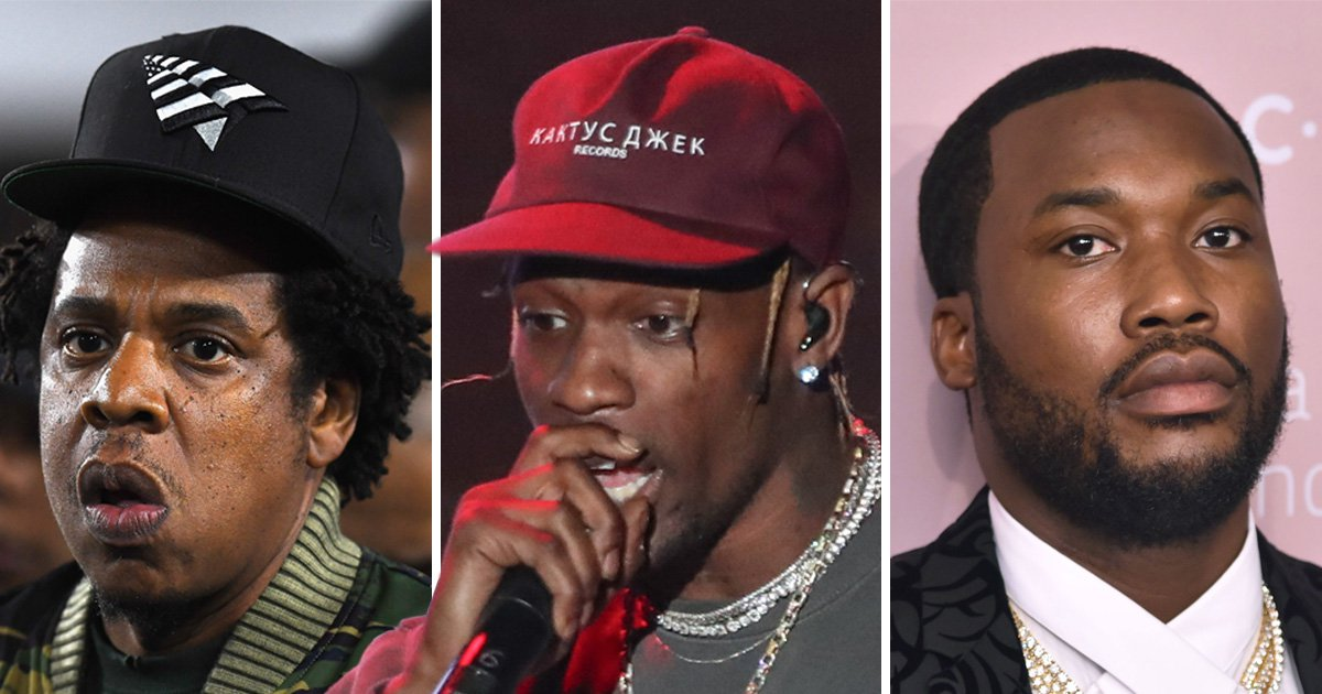 Meek Mill and Jay Z aren't happy about Travis Scott performing at Super Bowl