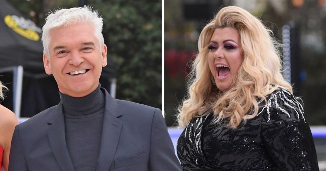 Phillip Schofield predicts Gemma Collins will walk from Dancing On Ice