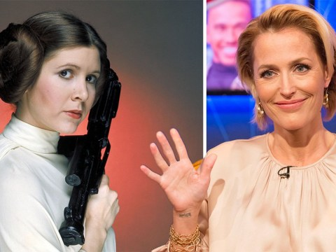 American Gods season 2 was gearing up for touching Carrie Fisher tribute with Gillian Anderson's Media playing Princess Leia