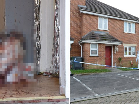 Trail of blood covers hallway after man nearly beaten to death
