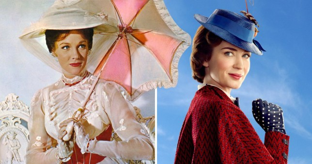 Dame Julie Andrews gives her full seal of approval to the Mary Poppins remake
