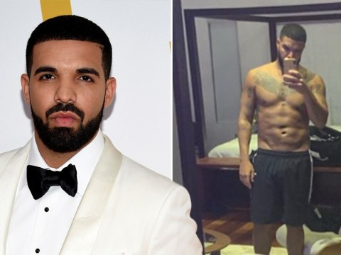 Drake proudly reveals his ripped body with topless selfie and fans are all in their feelings