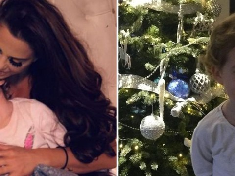 Katie Price preps for family Christmas with daughter Bunny