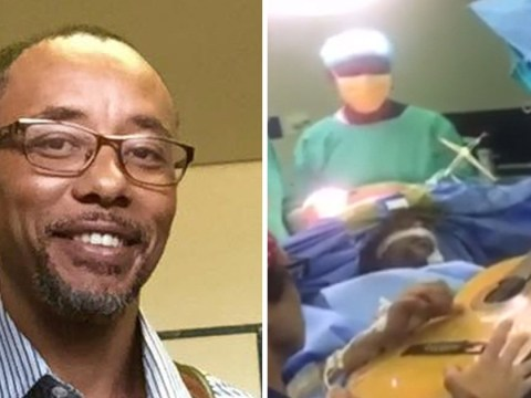 Musician continues to play guitar while surgeons operate on his brain