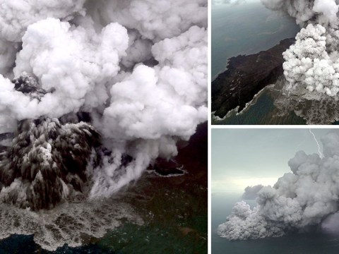 Indonesian volcano Anak Krakatau erupts again amid fears of another tsunami