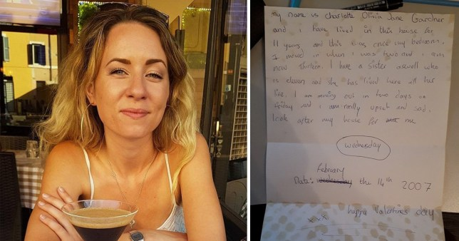 Man who found 'look after my house' note from girl finds her