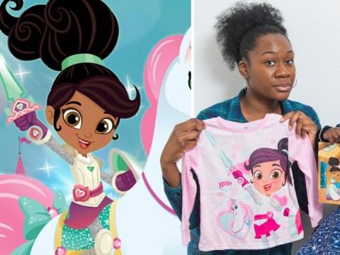 Mum accuses Matalan of making mixed race princess on children's pyjamas look white