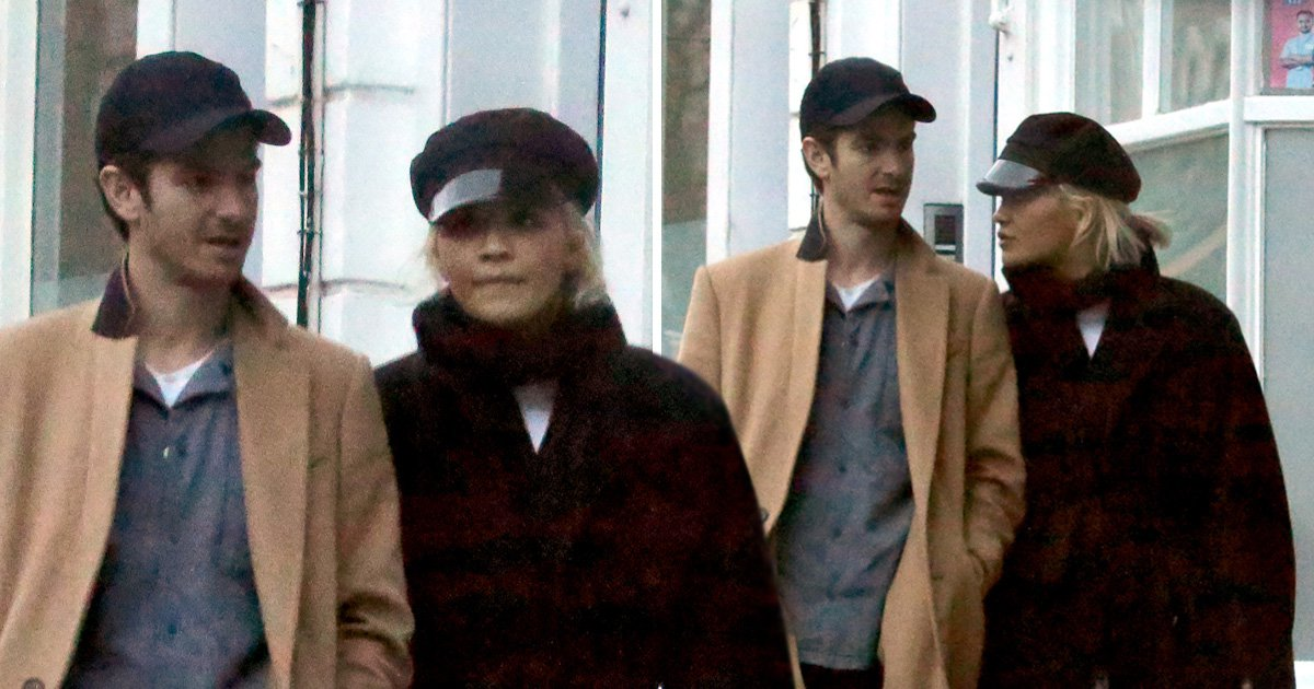 Rita Ora and Andrew Garfield seen for first time since romance rumours emerged as they take a stroll in London