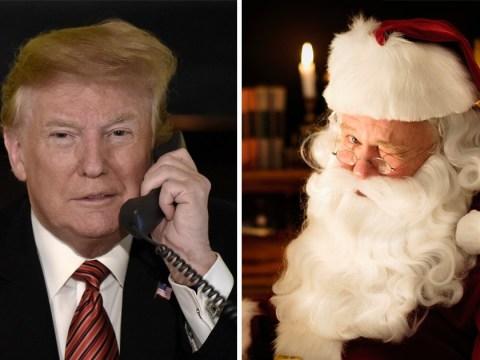 Girl, 7, left cookies for Santa despite Trump suggesting he isn't real