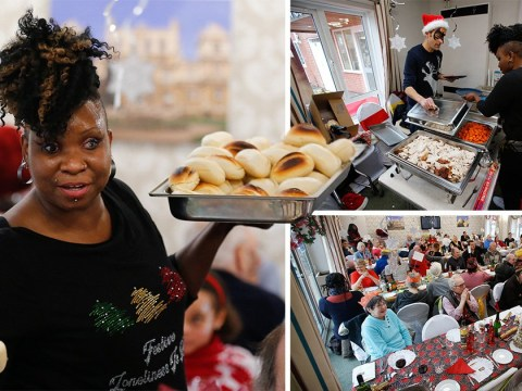 Mum spends thousands on organising a Christmas dinner for lonely people