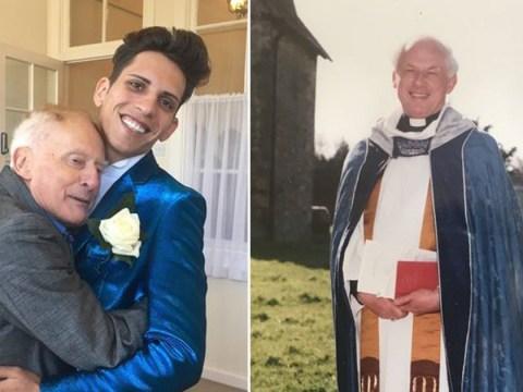 Vicar, 80, takes back Romanian husband, 25, who made him homeless