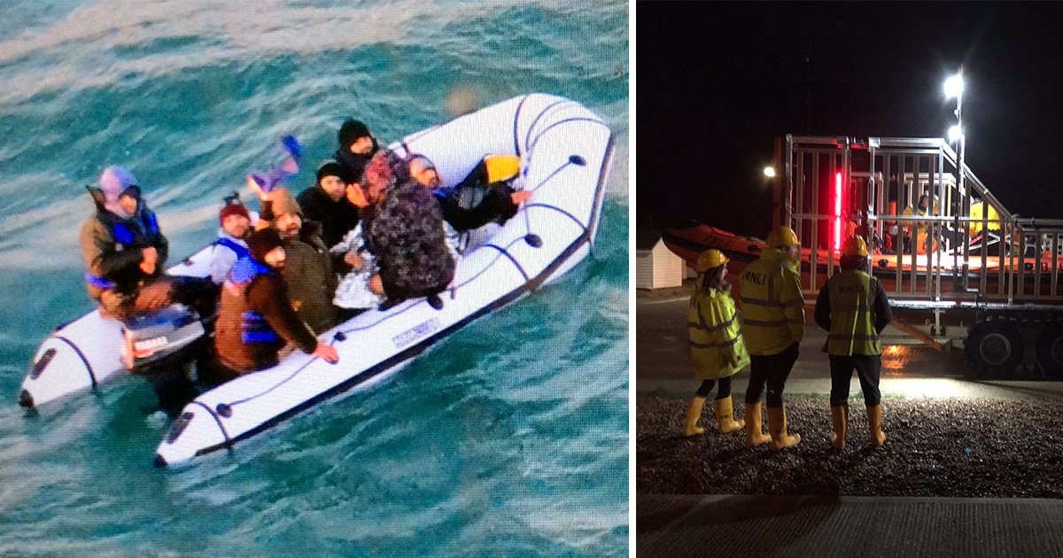 Border Force step up patrols after 43 migrants cross Channel over festive period