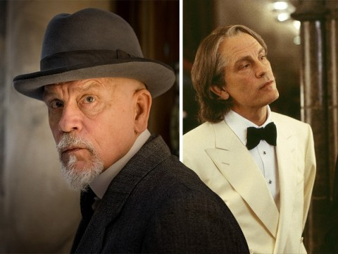 John Malkovich's Poirot accent takes viewers back to Johnny English days in The ABC Murders