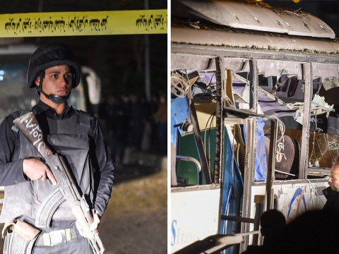 Egypt kills 40 'terrorists' after three tourists die in bus explosion