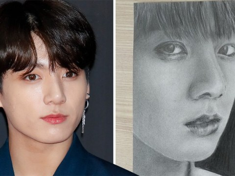 Jungkook isn't the only talented member of the Jeon family as maknae's father produces amazing BTS artwork