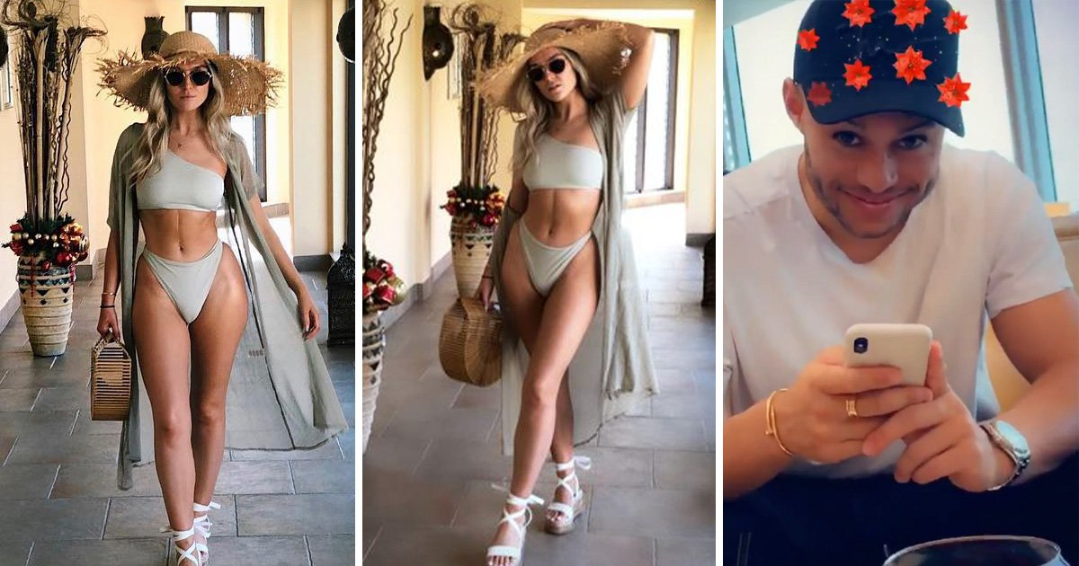 Perrie Edwards stuns with bikini pictures on romantic holiday with Alex Oxlade-Chamberlain