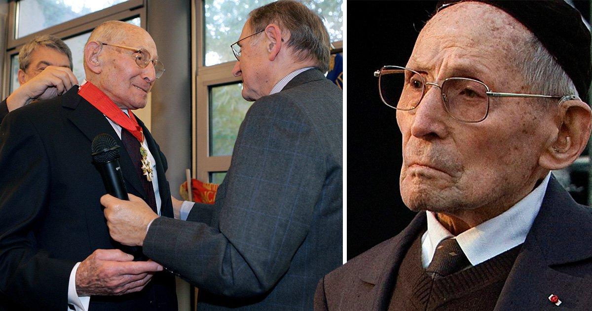 French hero who saved hundreds of Jewish children dies aged 108