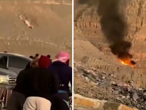 Helicopter seen spinning out of control before crash that killed all on board