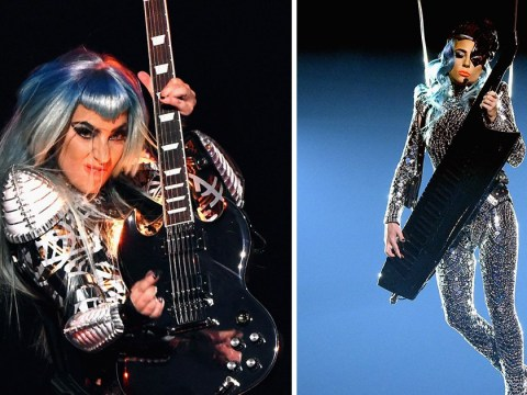 Lady Gaga channels David Bowie as she transforms into alien on stage at Las Vegas residency
