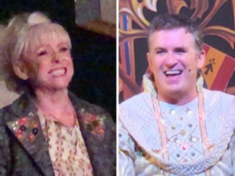 Barbara Windsor supports former EastEnder's co-star Shane Richie at panto amid Alzheimer's battle