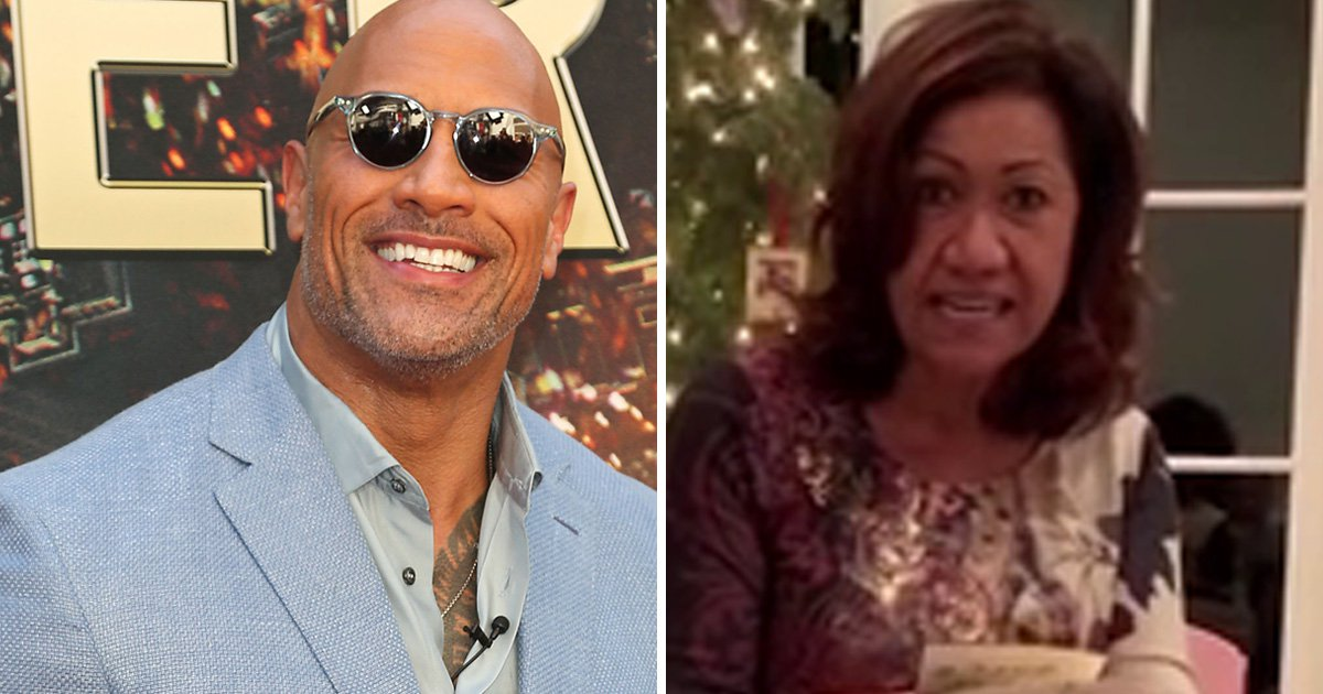 Dwayne Johnson proves he's the nicest man in Hollywood as he buys mum a new house for Christmas