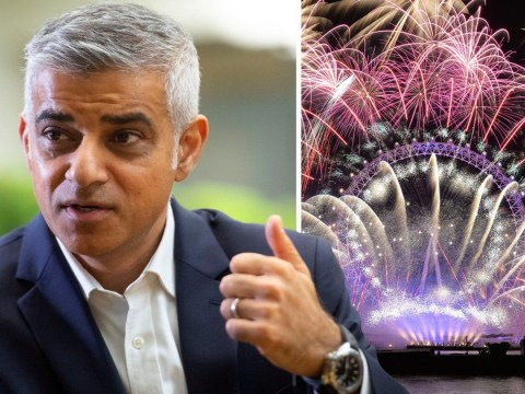 New Year display will show Europe 'London is open', Sadiq Khan says