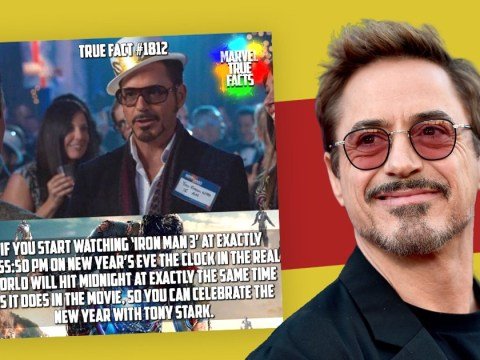 Robert Downey Jr rings in the New Year with important Iron Man information