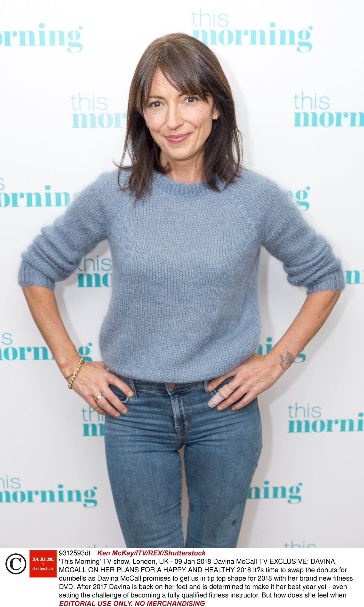 Behind Davina McCall's smile: Heartache, battling addiction and body shamers