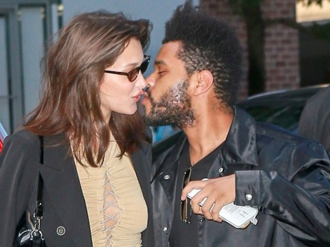 Actual model Bella Hadid thinks her boyfriend The Weeknd is the most beautiful person she knows