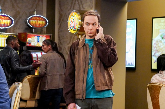 Jim Parsons as Sheldon on The Big Bang Theory