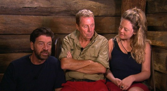 STRICT EMBARGO - NOT TO BE USED BEFORE 22:30 GMT, 04 DEC 2018 - EDITORIAL USE ONLY Mandatory Credit: Photo by ITV/REX (10013449hj) Pre-Trial - Nick Knowles, Harry Redknapp and Emily Atack 'I'm a Celebrity... Get Me Out of Here!' TV Show, Series 18, Australia - 04 Dec 2018